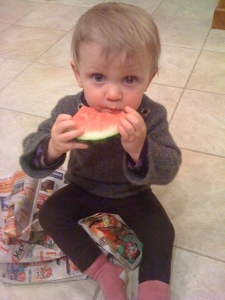 Watermelon enthusiast